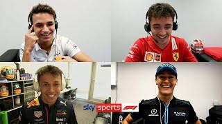 Norris, Russell, Leclerc & Albon compete in hilarious F1 quiz! | The Twitch Quartet Quiz Screenshot