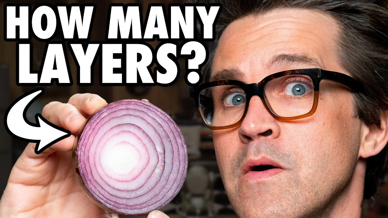 How Many Layers Do Onions Actually Have? (Test) HD quality image