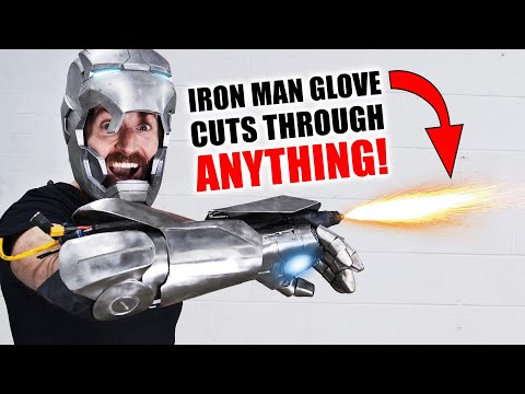 Iron Man Plasma Glove CUTS THROUGH EVERYTHING! (+ GIVEAWAY) MQ quality image
