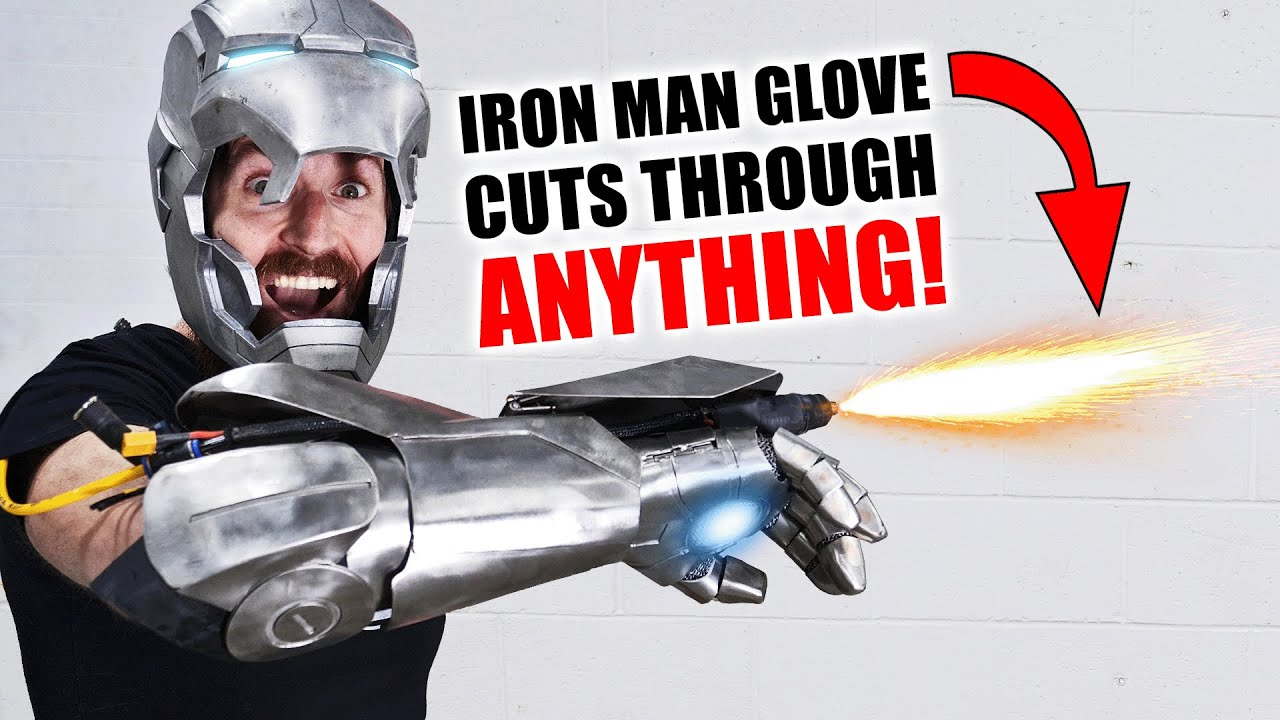 Iron Man Plasma Glove CUTS THROUGH EVERYTHING! (+ GIVEAWAY) HD quality image