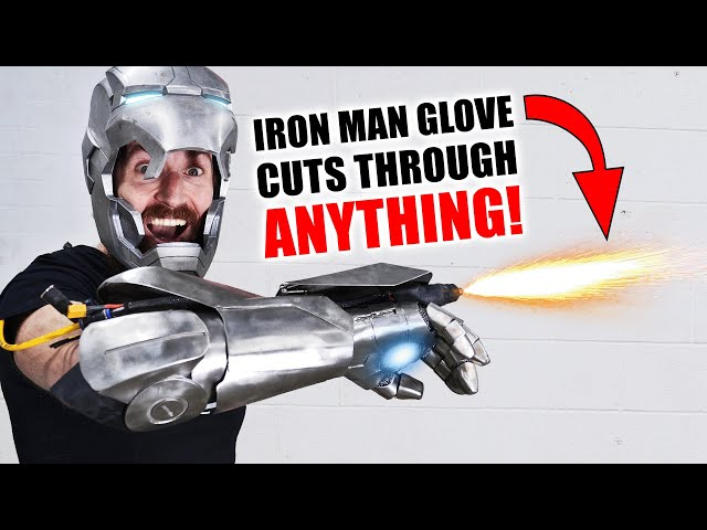 Iron Man Plasma Glove CUTS THROUGH EVERYTHING! (+ GIVEAWAY) HQ quality image