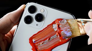 Customizing 8 iPhone 11's!! (GivEawAy) MD quality image