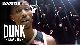 LONGEST Distance Dunk Contest EVER $50,000 Dunk Competition MD quality image