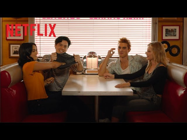 Impressions from Jugheads hat Riverdale Netflix HQ quality image