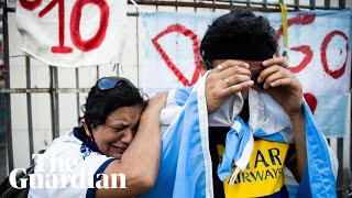 Fans in Argentina and Naples mourn death of Diego Maradona Screenshot