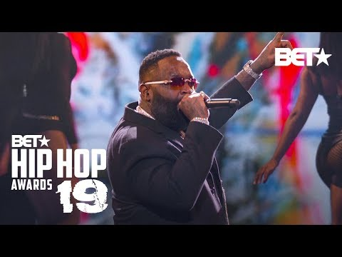 Rick Ross & T-Pain Hit Stage To Perform Maybach Music, Boss & More! Hip Hop Awards 19 MQ quality image