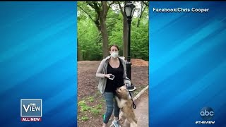 Woman in Central Park Incident Fired | The View Screenshot