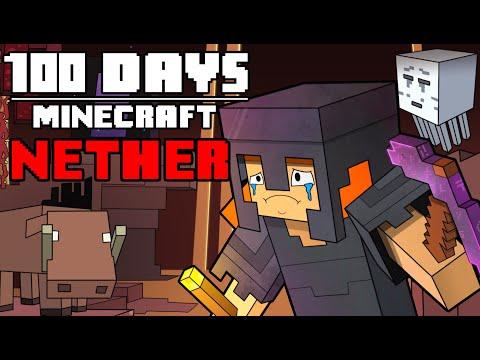 100 Days - [Minecraft Nether] MQ quality image
