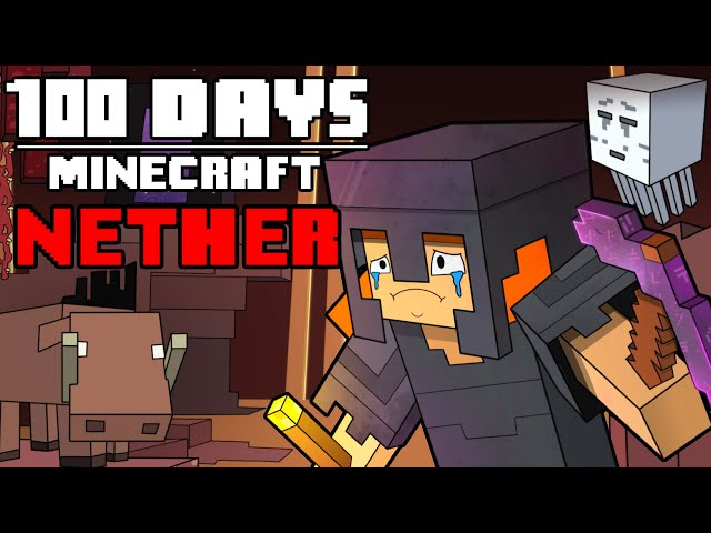 100 Days - [Minecraft Nether] HQ quality image