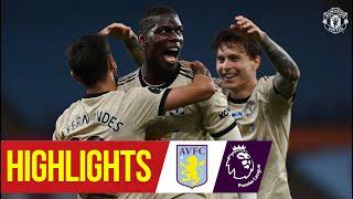 Highlights | Fernandes, Greenwood & Pogba on target as Reds win | Aston Villa 0-3 Manchester United Screenshot