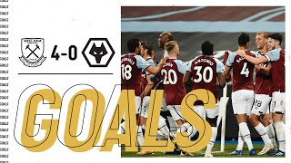 GOALS WEST HAM UNITED 4-0 WOLVES MD quality image