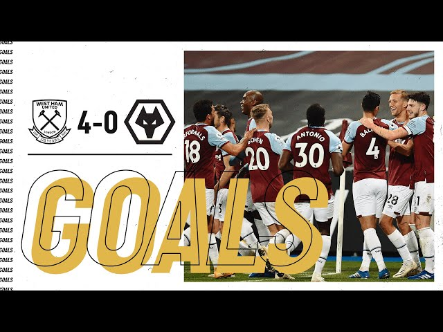 GOALS WEST HAM UNITED 4-0 WOLVES HQ quality image
