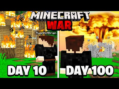 Surviving 100 Days in a Minecraft WAR.. here's what happened MQ quality image