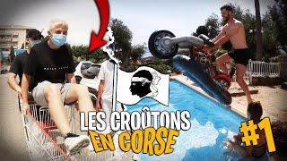 On achète le cadeau d'anniv à Lebouseuh avec Michou et Inoxtag - Les Croûtons en Corse ! #1 Screenshot