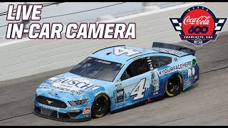 LIVE NASCAR In-Car Camera Presented by Goodyear: Kevin Harvick in the Coca-Cola 600 at Charlotte Screenshot