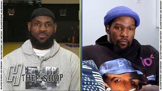 2021 NBA All-Star Draft - Team LeBron vs Team Durant - Inside The NBA Screenshot
