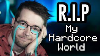 Saying Goodbye to My Minecraft Hardcore World.. Screenshot
