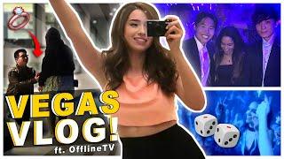CLUBBING in LAS VEGAS w/ OfflineTV & Friends - Pokimane Vlog Screenshot