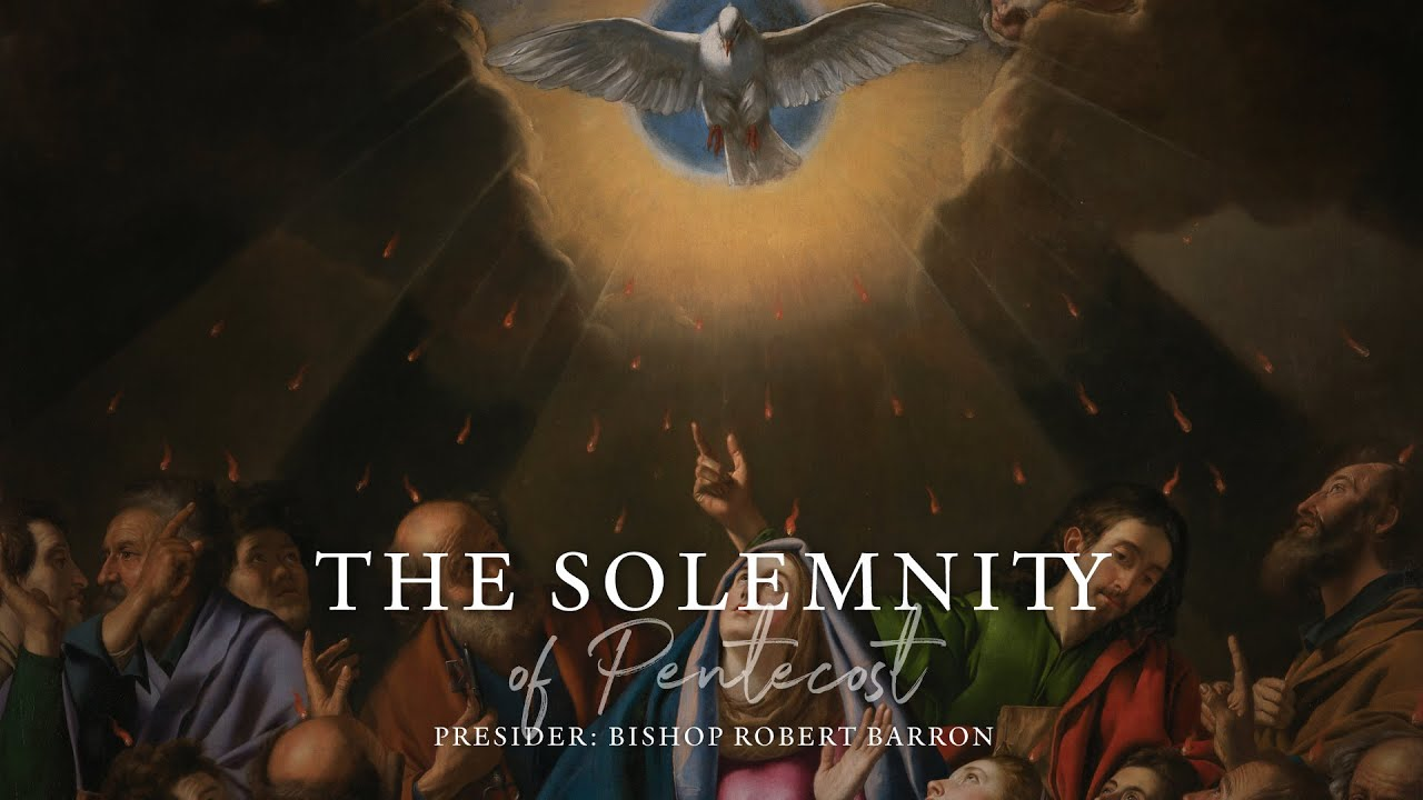 Pentecost Sunday Mass with Word on Fire (5/31/2020) HD quality image