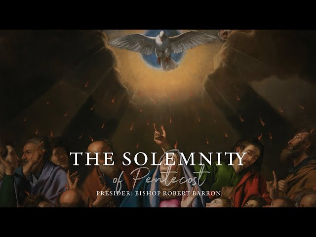 Pentecost Sunday Mass with Word on Fire (5/31/2020) HQ quality image