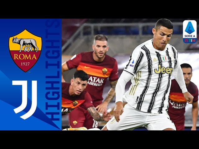 Roma 2-2 Juventus Ronaldos Brace Rescues a Point for Juventus! Serie A TIM HQ quality image