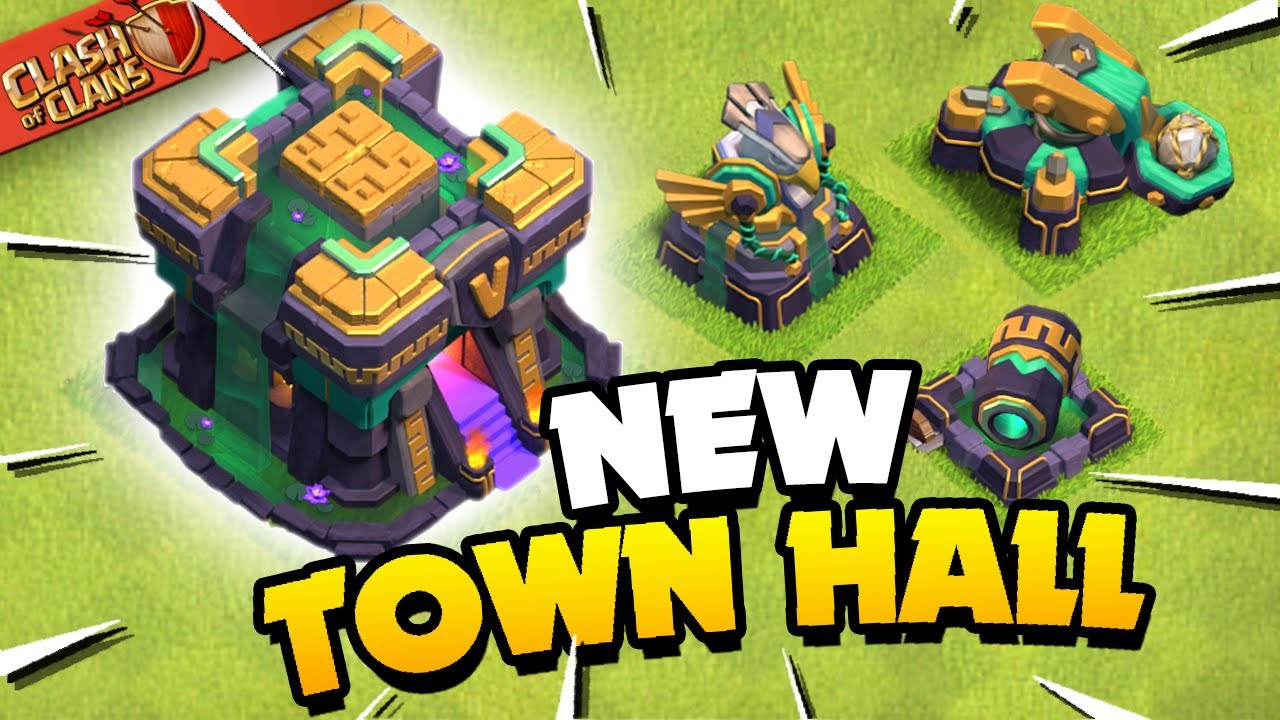 Town Hall 14 Revealed! Clash of Clans Update Sneak Peek 1! HD quality image