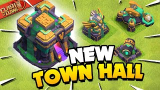 Town Hall 14 Revealed! Clash of Clans Update Sneak Peek 1! MD quality image