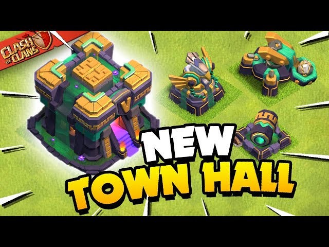 Town Hall 14 Revealed! Clash of Clans Update Sneak Peek 1! HQ quality image