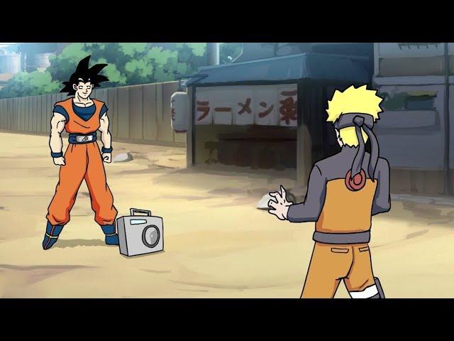 Goku vs. Naruto Rap Battle! HQ quality image