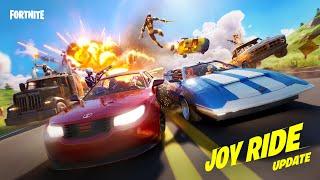 Get Behind the Wheel In The Joy Ride Update | Fortnite Screenshot