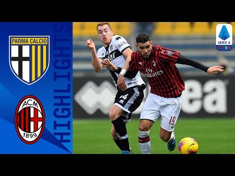 Parma 0-1 Milan Late Theo Hernandez Goal Wins It For Milan! Serie A MQ quality image