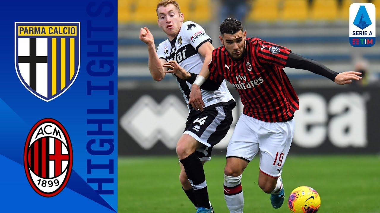 Parma 0-1 Milan Late Theo Hernandez Goal Wins It For Milan! Serie A HD quality image