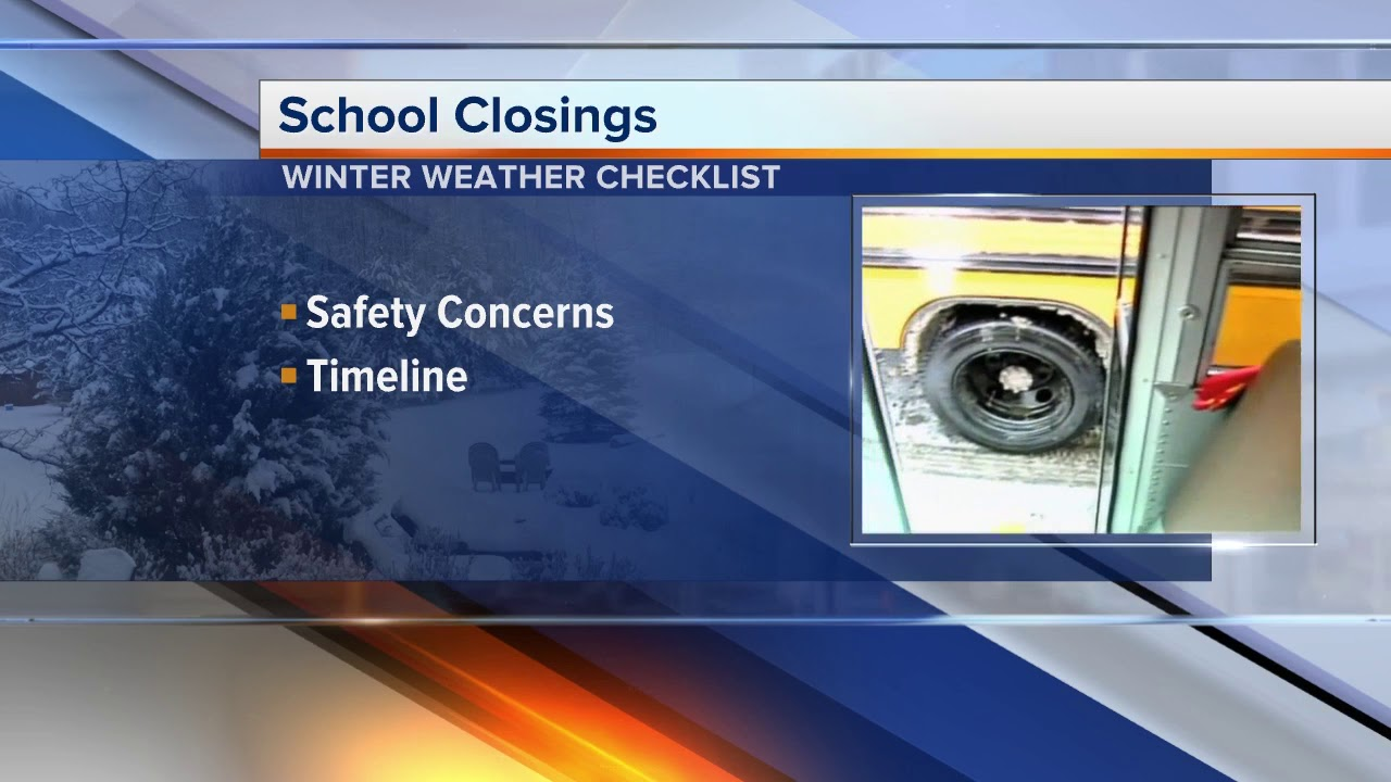 Winter weather: How schools make the snow day call HD quality image
