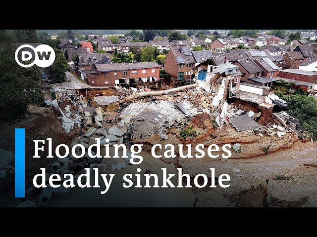 Flooding in Europe kills at least 150 with hundreds still missing DW News HQ quality image