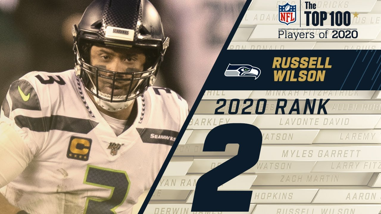 #2: Russell Wilson (QB, Seahawks) Top 100 NFL Players of 2020 HD quality image