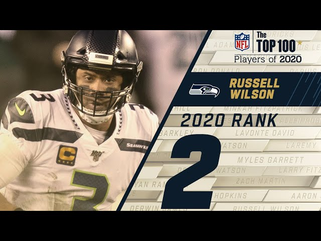 #2: Russell Wilson (QB, Seahawks) Top 100 NFL Players of 2020 HQ quality image
