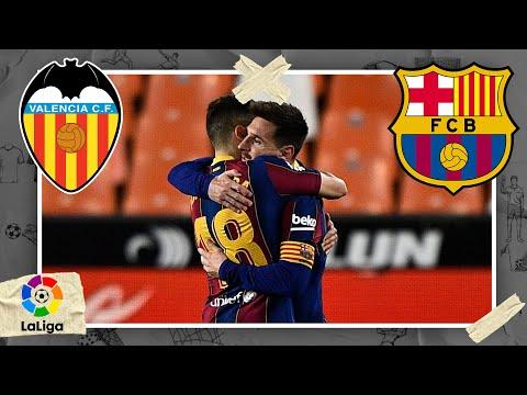 Valencia vs FC Barcelona LALIGA HIGHLIGHTS 5/02/2021 beIN SPORTS USA MQ quality image