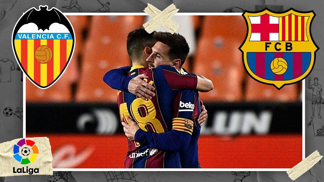 Valencia vs FC Barcelona LALIGA HIGHLIGHTS 5/02/2021 beIN SPORTS USA HD quality image