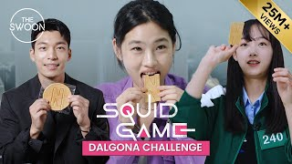 Squid Game stars take on the Dalgona Challenge [ENG SUB] MD quality image