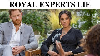 We Proved Royal Experts Lie About Harry and Meghan Screenshot