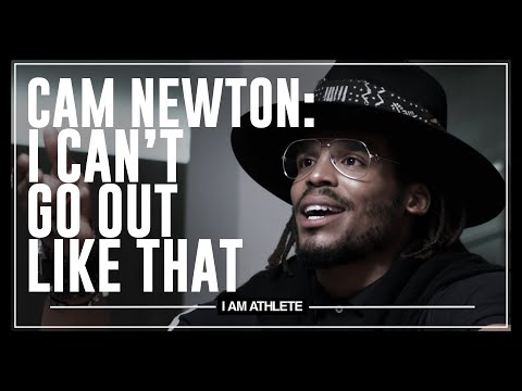 Cam Newton: I Can't Go Out Like That I AM ATHLETE with Brandon Marshall, Chad Johnson & More MQ quality image