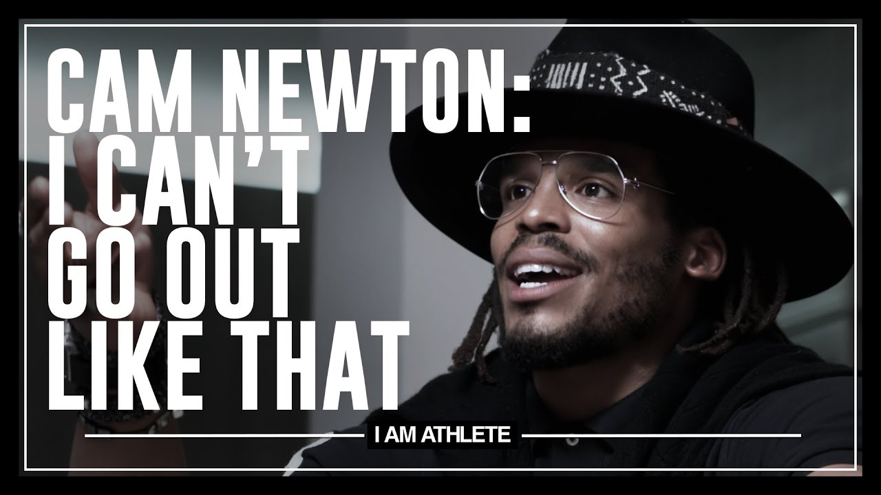 Cam Newton: I Can't Go Out Like That I AM ATHLETE with Brandon Marshall, Chad Johnson & More HD quality image