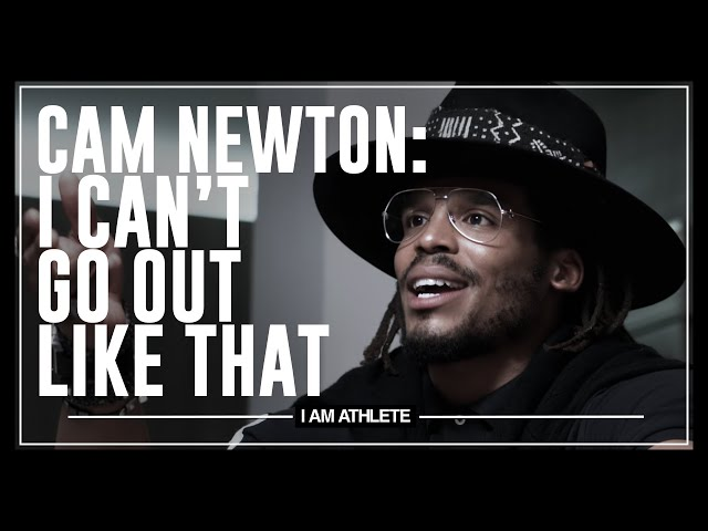 Cam Newton: I Can't Go Out Like That I AM ATHLETE with Brandon Marshall, Chad Johnson & More HQ quality image