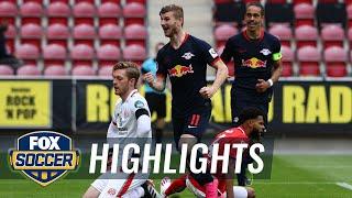 Timo Werner's hat-trick gives RB Leipzig a 5-0 victory against Mainz | 2020 Bundesliga Highlights Screenshot
