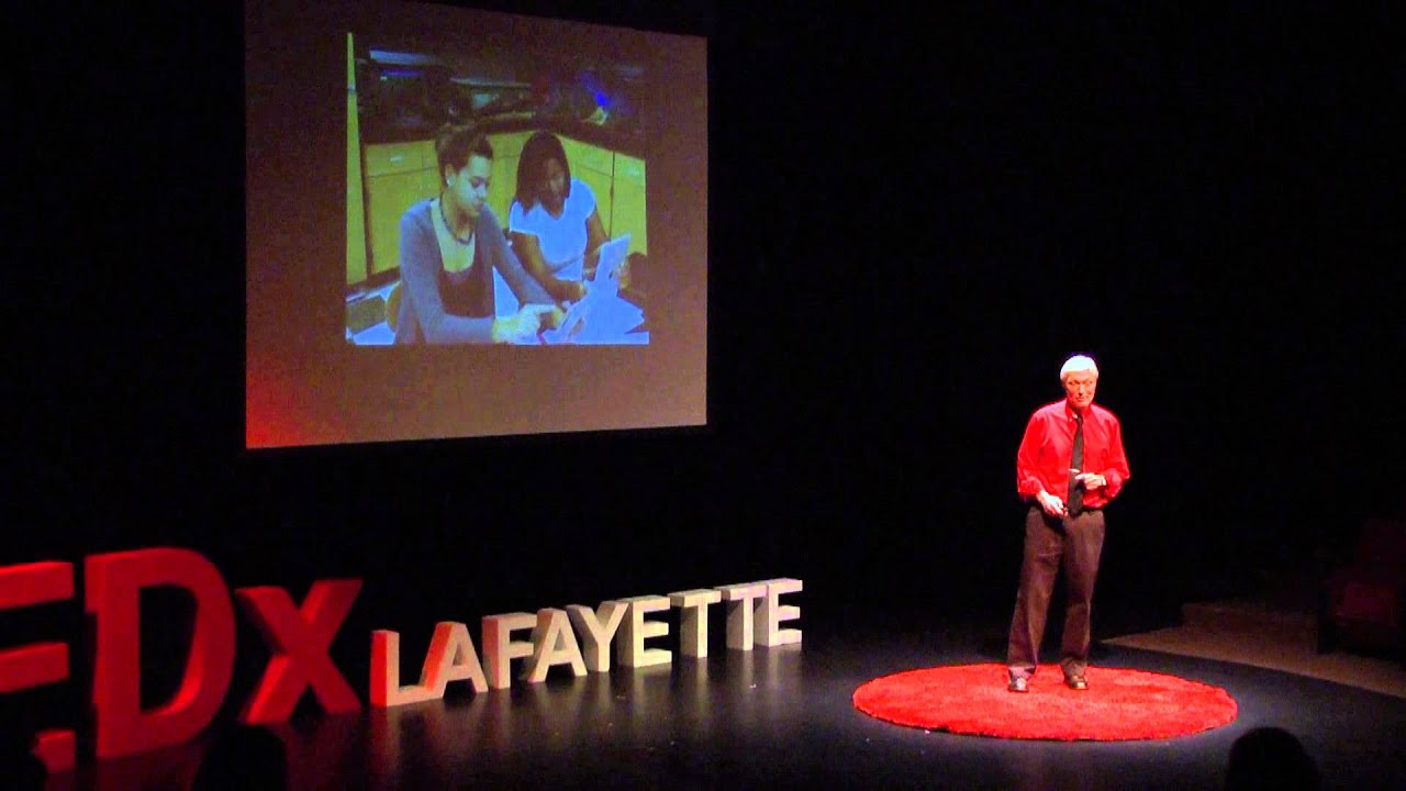 Teaching Methods for Inspiring the Students of the Future Joe Ruhl TEDxLafayette HD quality image