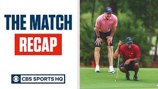 The Match Recap: Tiger Woods vs. Phil Mickelson, Tom Brady vs. Peyton Manning | CBS Sports HQ Screenshot