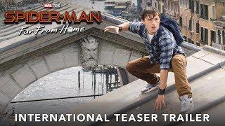 SPIDER-MAN: FAR FROM HOME – International Teaser Trailer