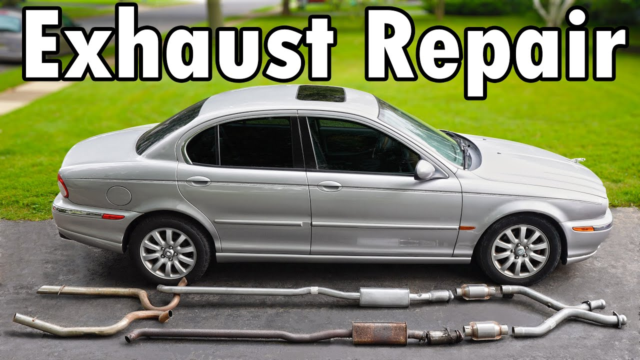 How to Repair an Exhaust Leak DIY (No Welding) HD quality image