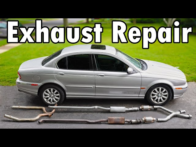 How to Repair an Exhaust Leak DIY (No Welding) HQ quality image