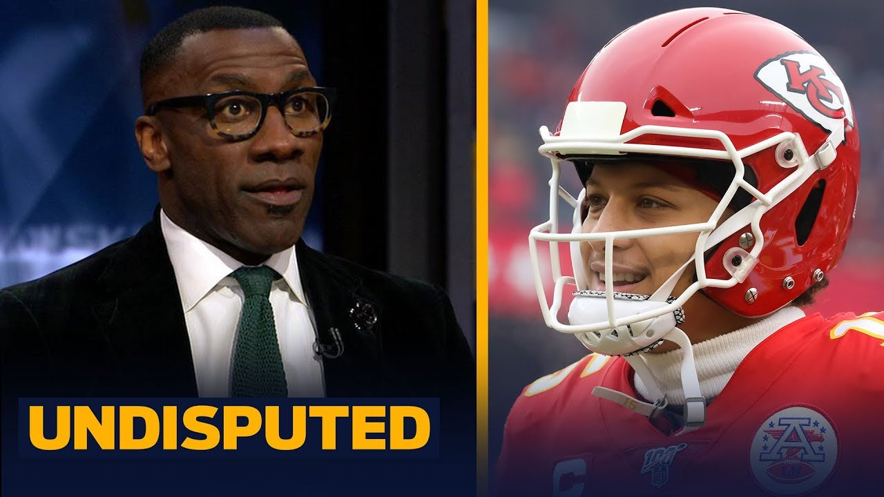 Shannon Sharpe reacts to Patrick Mahomes, Chiefs' comeback win over Texans NFL UNDISPUTED HD quality image